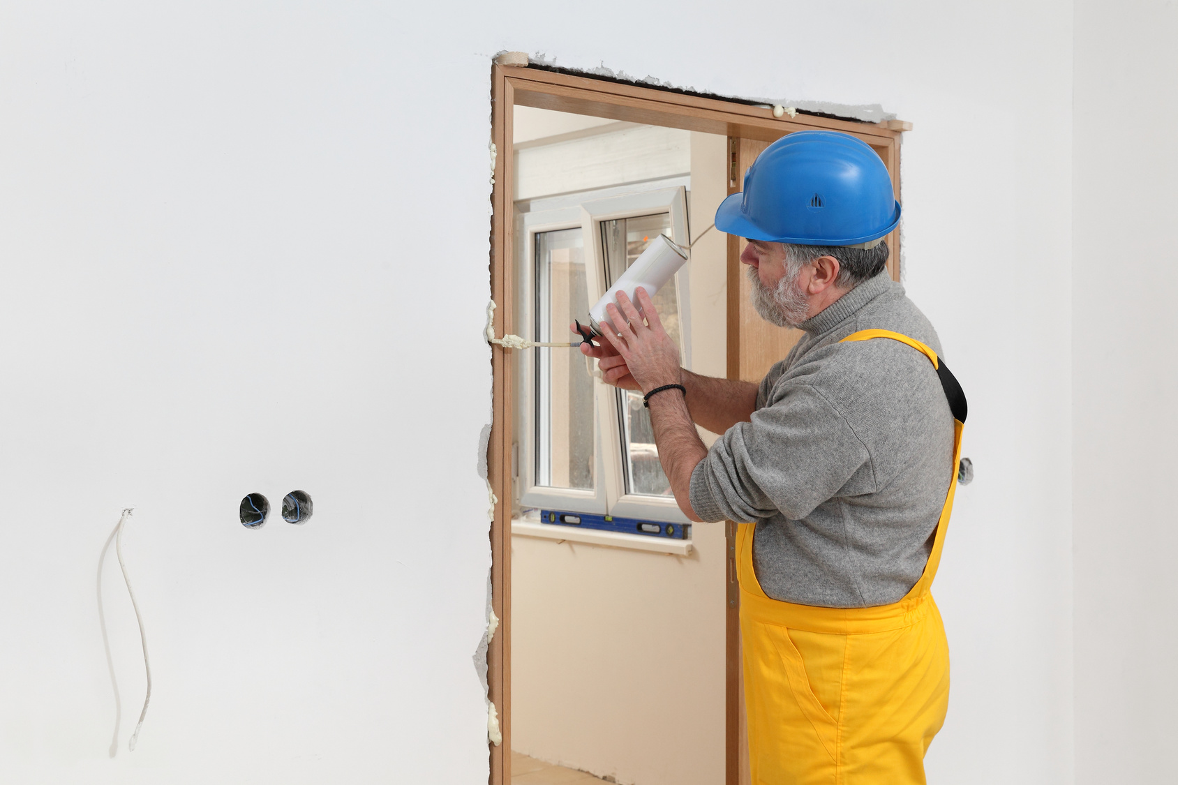 Pose d un bloc porte int rieur for Installer porte interieur
